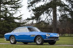 John Lennon's first car - a 1965 Ferrari. Photo / Supplied