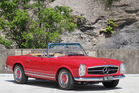 The UK-delivered 1964 'Pagoda roof' Mercedes-Benz 230SL. Photo / Supplied