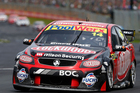 Fabian Coulthard during Race 8 of the ITM 400 V8 Supercars in Auckland. Picture / Getty Images