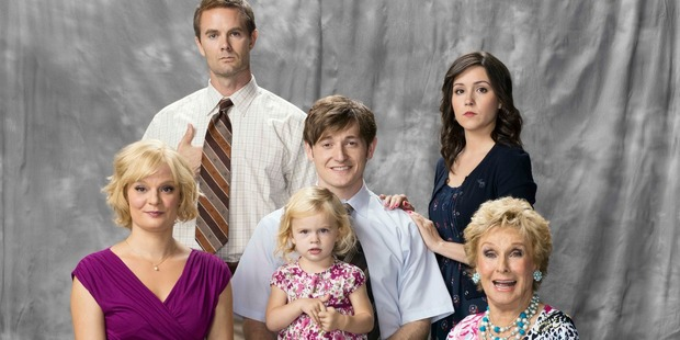 The cast of the TV3 series 'Raising Hope'. Photo / Supplied