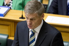 Bill English told Parliament his Budgets had created a remarkable turnaround. Photo / Mark Mitchell