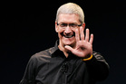 Tim Cook, chief executive officer of Apple. Photo / Bloomberg
