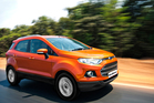 The back view is very 90s, but the EcoSport dodges the traffic nicely.