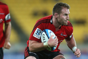 Kieran Read is expected to return from his foot injury to lead the Crusaders pack. Photo / Getty Images