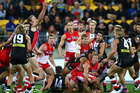 Aussie rules highlights will be screened on the Sommet Sports channel that kicks off on Freeview today. Photo / Getty Images