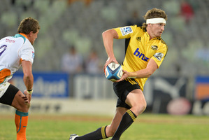 Beauden Barrett has been moved from first-five to fullback. Photo / Getty Images