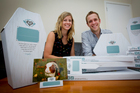Jane and Mat Bogust think there's an international market for their biodegradable pet coffins. Photo / Sarah Ivey