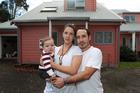 Maria Moran, Alejo Ramirez and baby Benicio are house-hunting in Avondale. Photo / Doug Sherring