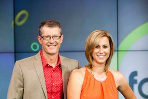 Fair Go hosts Gordon Harcourt and Pippa Wetzell. Photo / Supplied