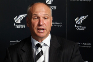 "New Zealand Cricket chief executive David White would only say the two boards are ""still working through the details of the schedule"". Photo / Getty Images"