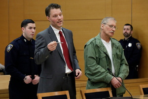 David Ranta, who is now 58, was convicted of shooting dead a rabbi in 1991. Photo / AP