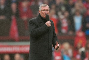 Sir Alex Ferguson is retiring, leaving David Moyes to make his own mark at the helm of Manchester United. Photo / AP