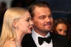 Actors Carey Mulligan and Leonardo DiCaprio. Photo / AP