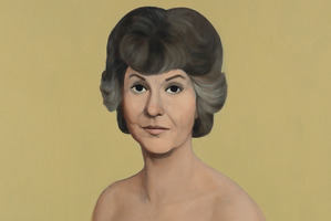 The nude painting of Bea Arthur. Photo / AP