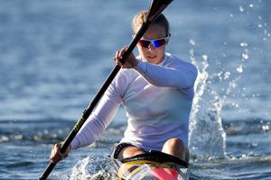 New Zealand canoeist Lisa Carrington. Photo / Brett Phibbs