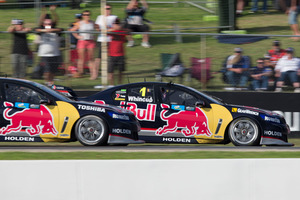 Jamie Whincup says Red Bull's ability to dial in its cars has given him the edge. Photo / Edge Photographics