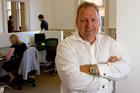 Rod Drury, chief executive of Wellington based software development company Xero. Photo / Mark Mitchell