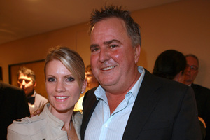 "Katrina and Simon Gault are ""over the moon"". Photo / Norrie Montgomery"