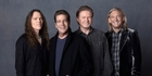 The Eagles (from left) Glenn Frey, Don Felder, Don Henley, Joe Walsh, Timothy B. Schmit as they were in 1977. Photo / Supplied