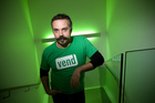 Vaughan Rowsell, founder and chief executive of computer software company Vend. Photo / Paul Estcourt
