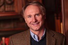 American author Dan Brown and his new book 'Inferno'. Photo / Supplied