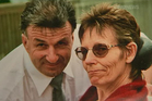 Margaret Page with estranged husband Barry. Photo / Supplied