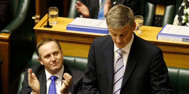 "Finance Minister Bill English outlined another ""zero"" Budget last year, largely because of the global financial crisis and the 2011 Christchurch quake. Photo / Mark Mitchell"