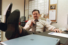 Ricky Gervais as David Brent in his UK version of 'The Office'. Photo / Supplied
