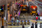 Transforming Britomart into Auckland's main railway station has seen passenger numbers increase. Photo / Steven McNicholl