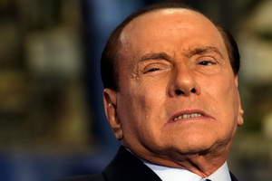 Lawyers are seeking to ban Berlusconi from holding public office for life. Photo / AP