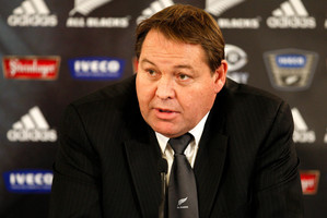 Steve Hansen. Photo / NZPA