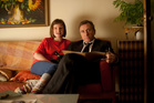 Skunk (Eloise Laurenson) and father Archie (Tim Roth) in the coming-of-age drama Broken. Photo / Supplied