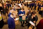 Students at the Youth Alcohol Expo at the Pettigrew Green Arena, Taradale, Napier. Photo / Glenn Taylor