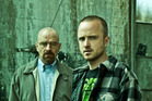 Walter White (Bryan Cranston) and Jess Pinkham (Aaron Paul) in Breaking Bad. Photo / Supplied