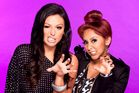 Nicole 'Snooki' and Jenni 'Jwoww' from the MTV show Snooki and Jwoww. Photo / Supplied