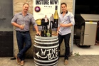 Rob Cameron and Tim Lightbourne, co-founders of Invivo Wines. Photo / Supplied