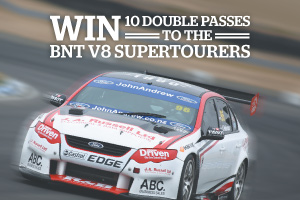Win one of ten double passes to Round 3 of the BNT V8 Supertourers