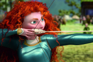 Princess Merida in Brave. Photo/supplied
