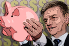Finance Minister Bill English is delivering his fifth Budget today. Graphic / Herald Online