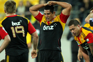 The Chiefs haven't won in Wellington since 2001. Photo / Getty Images