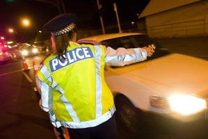 The men, believed to be Maori or Pacific Islanders, threatened the couple before taking undisclosed property. Photo / File