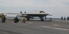 US drone makes first catapult launch off a carrier 