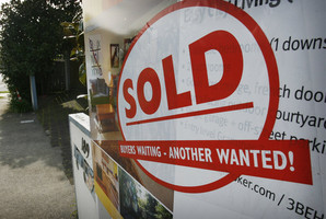 House sales fall from six-year high
