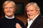 Bill Roache with his waxwork likeness from Madame Tussauds. Photo/AP