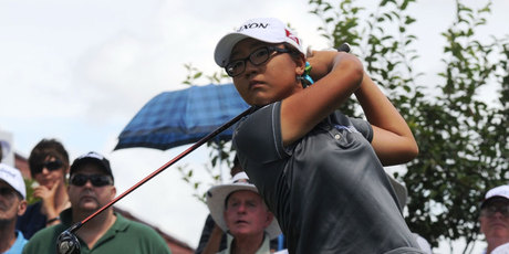 World No 1 amateur Lydia Ko continues to impress around the world, this time on her debut on the Japan Ladies Professional Golf Tour. Photo / Getty Images.
