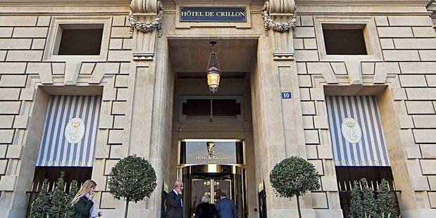 The Hotel de Crillon has closed for renovation. Photo / Supplied