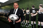 All Blacks coach Steve Hansen after today's announcement. Photo / Getty Images