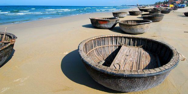Vietnam's My Khe Beach. Photo / Supplied