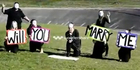 YouTube proposal a hit with groom
