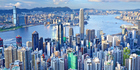 A birds-eye view of Hong Kong's impressive skyline. Photo / Thinkstock